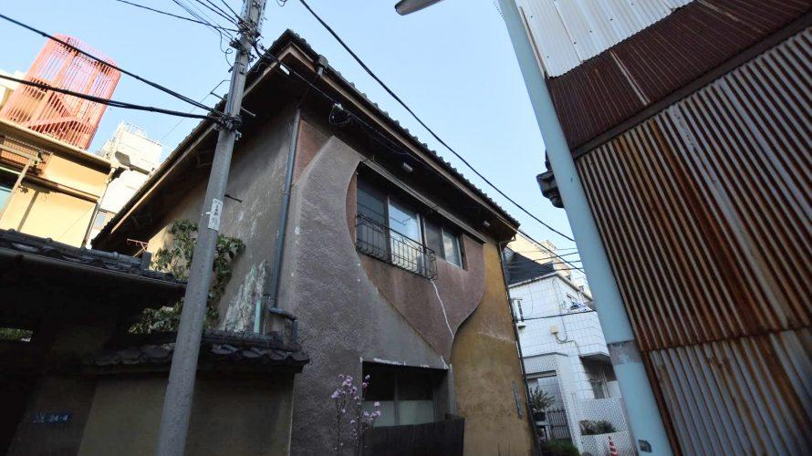 【吉原】旧赤線・吉原のハート型らしき壁に惹かれる旧屋号「ゆうらく」のカフェー建築