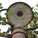 【レトロ電柱】京成津田沼「わいがや通り」商店街で見つけたレトロ電柱