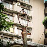 【レトロ電柱】船橋市神明神社の近くの2本のレトロ電柱