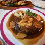 昔なつかし「とんまつレストラン」で洋食ランチ -小岩⑵
