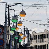「大穴中央商店街」唯一現役!レトロな街灯が魅力的の船橋・大穴の広い商店街へ -大穴③