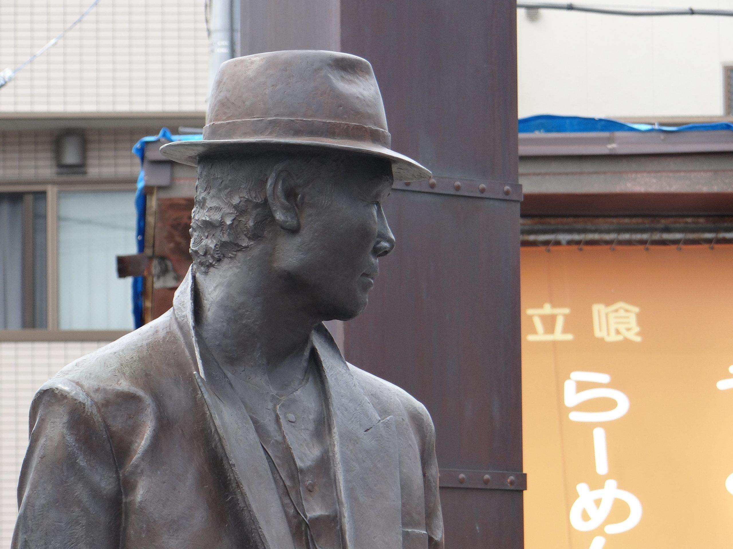 柴又駅前の再開発。寅さんの像は変わらず。昭和の柴又の面影を探して -柴又⑴