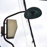 初富駅「鎌小通り商店街」レトロな街灯が1本だけ残る小さな商店街の名残?