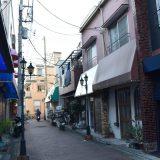 柴又駅の静かな商店街。観光客が全くいない駅の反対側にある商店街が気になって -柴又⑻