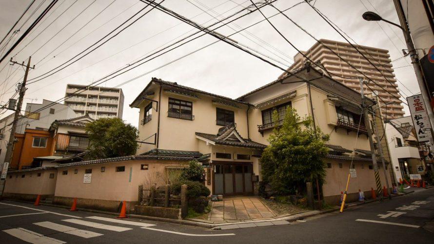 「平井三業地」平井にも花街が存在した。平井3丁目に残る料亭と電柱の名残 -平井⑶