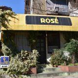 千葉公園通り商店会にある「白扇旅館」、喫茶店「ROSE」