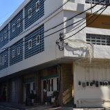 千葉駅北口周辺。レトロな山崎ビル・ビジネスホテル「望海」