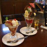 「パーラーナルシマ」昔懐かしカフェレストランで頂くビックパフェ! -柏⑷