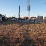 幕張駅北口、再開発によって更地に。2023年、北口駅前広場に向けて工事中 -幕張⑵