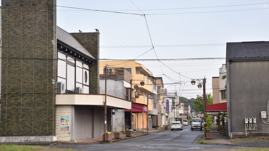 木下駅前の商店街「木下南口商店会」。行商が盛んだった歴史 -木下⑵