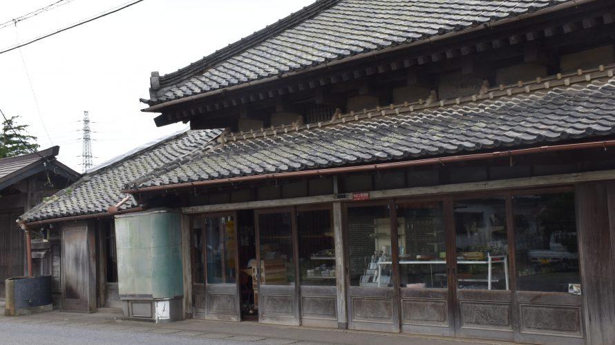 安食・旧街道沿い「鷲町商栄会」。大鷲神社の門前町、趣深い旅館の面影 -安食⑵