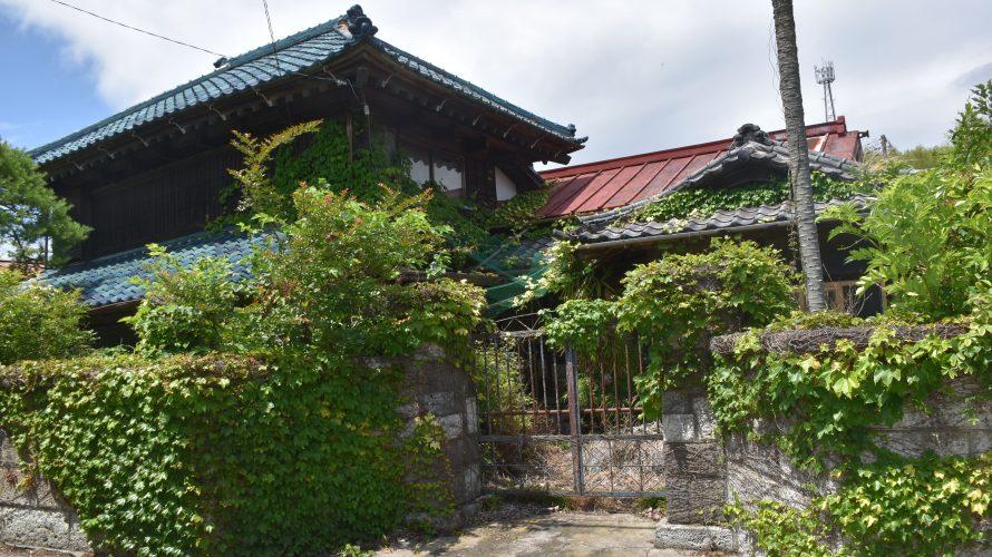 安食駅~成田街道沿いの建物。幕末に栄えた街に残る昭和 -安食⑴
